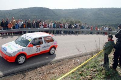 José Crisanto Galán vence en la primera cronometrada de Rallye de Adamuz
