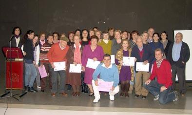 El Centro Guadalinfo de Villafranca entrega sus certificados de asistencia