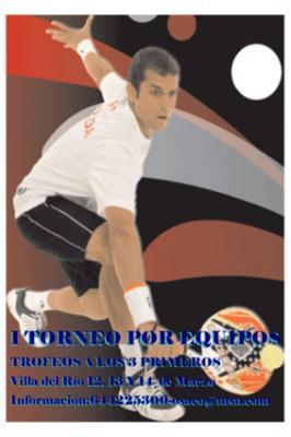 Los próximos días 12, 13 y 14 de marzo se va a celebrar el I Torneo por Equipos C.D. Padel Villa del Río