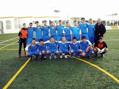 El Villafranca CF cadete marca la diferencia