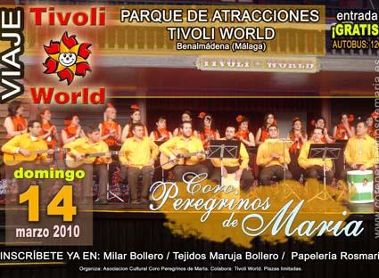 Viaje a Tívoli World con el Coro Peregrinos de María de Adamuz