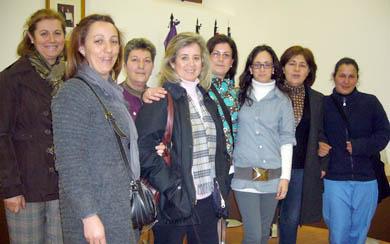 Las trabajadoras del Programa de Ayuda a Domicilio, de Pedro Abad, reciben formación