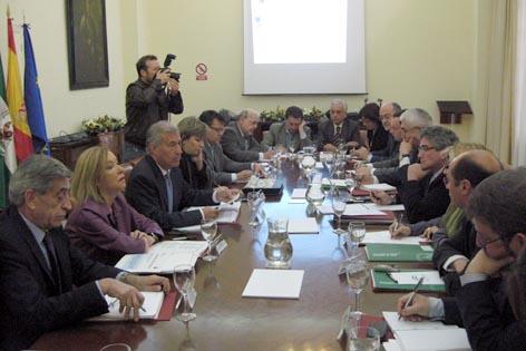 Estado y Junta de Andalucía constituyen la comisión de seguimiento para evaluar las consecuencias del temporal
