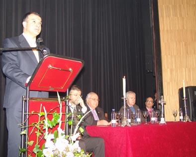 José Gomez pregona la Pasión villarrense